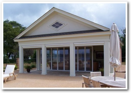 Retractable Screens Front Porch